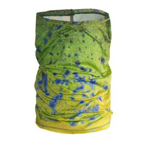 Dorado Fishing Adventure Neck Gaiter Great sun protection as well as a great accent piece for a night on the town