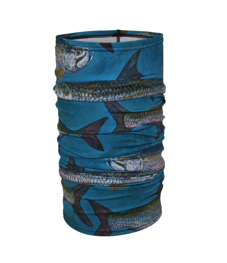 Tarpon Dreams Fishing Adventure Neck Gaiter