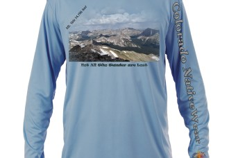 "Mount Yale ""Not All Who Wander Are Lost"" celebrate the climb of Mount Yale, one of Colorado's Great 14er's"