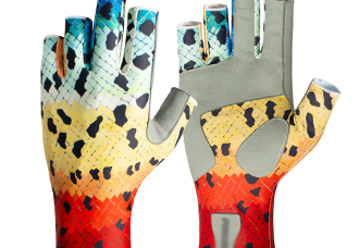 Rainbow Trout SunPro Gloves