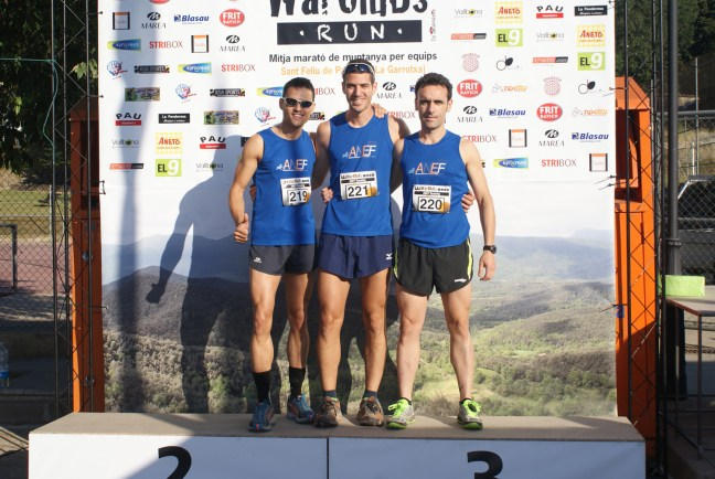 ANEF RUNNING TEAM. Trail Sant Feliu de Pallerols