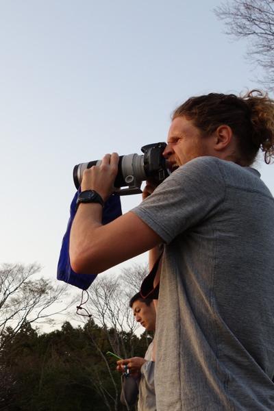 Shooting Mt. Fuji