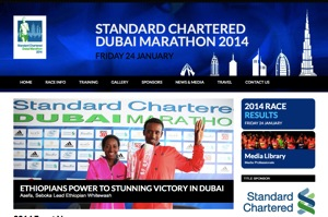 Standard Chartered Dubai Marathon 2014 Official Site