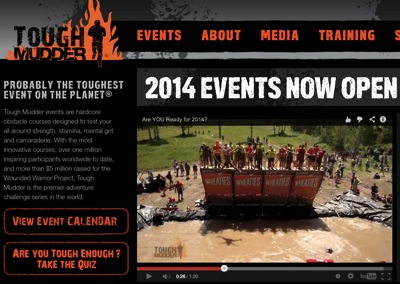 Tough Mudder Probably the Toughest Event on the Planet