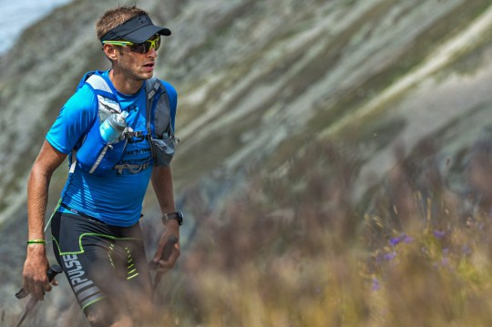 CCCのコースを進むGiulio ORNATI。Photo courtesy of © The North Face® Ultra-Trail du Mont-Blanc® - Pascal Tournaire