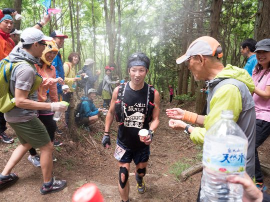 Mt-Hiei-50k-2016-Aidstation