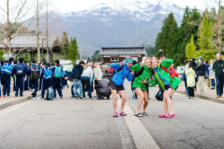 海外から参加したトップ選手の皆さんもレースを終えて笑顔を見せていた。Photo by Nagi Murofushi / Mt.Awa Race
