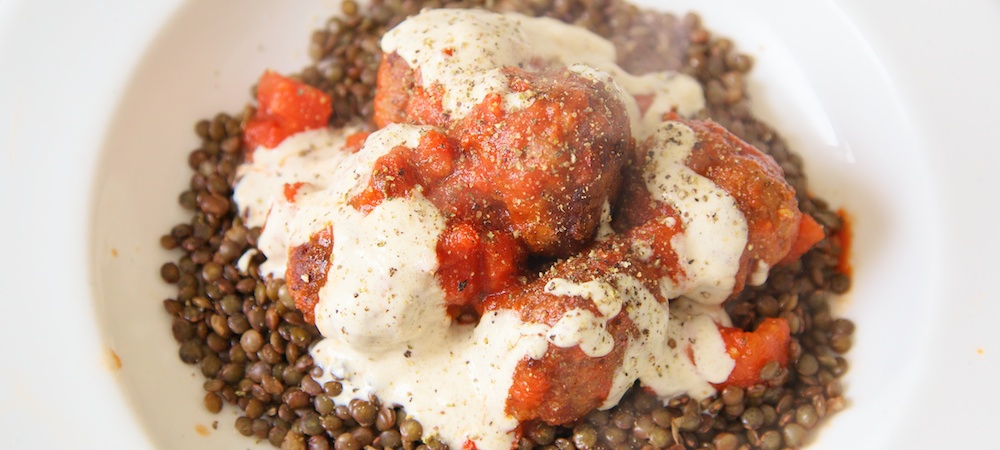 Beef Koftas with Puy Lentils Recipe Trail Running Nutrition