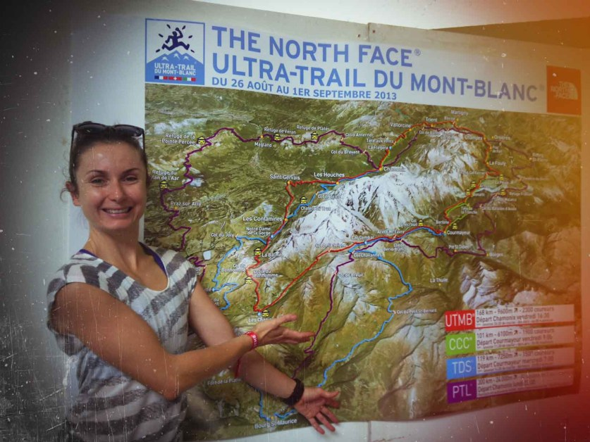 Shona Stephenson UTMB Map