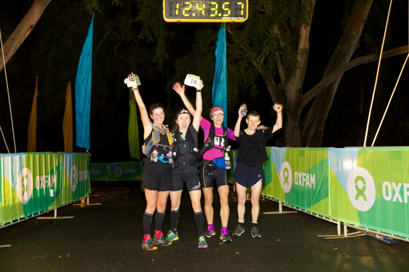 Oxfam Trailwalker Brisbane