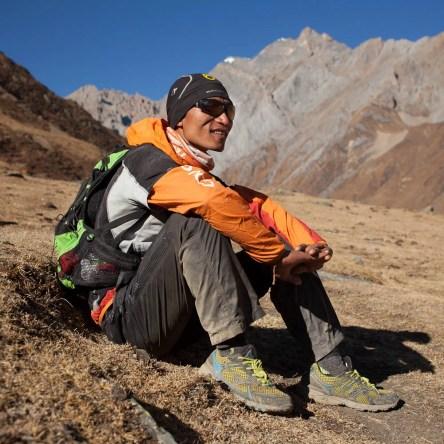 Upendra Sunuwar - excellent runner and guide