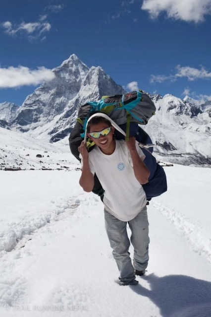 The workers in the Everest region
