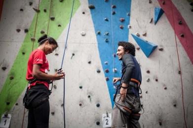mira rai climbing