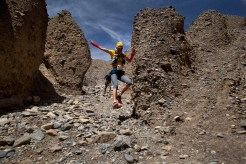 Mustang Trail Race: speed descent, Tite