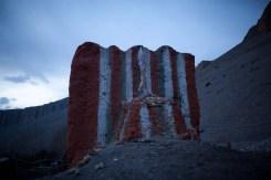 Mustang Trail Race: Mustang stupa