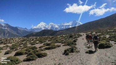 The western side brought the high altitude desert of Lower Mustang