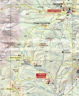 AMT 2017. 5. Dhakmar - Mui La - Ghar Gumba - Marang La - Lo Mathang