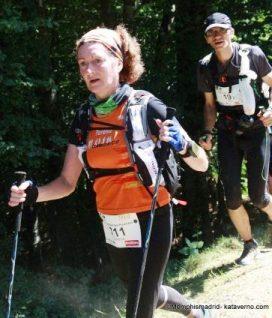 Trail Running Spain: Teresa Farriol at Grand Raid Pyrenees 2012.