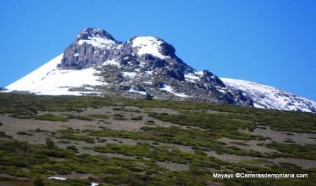 Last section of the climb up to Peak Peñalara