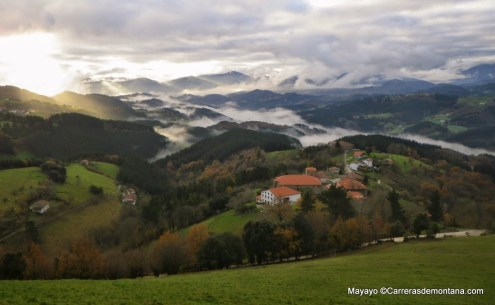 Ehunmilak landscapes at Goierri, the Basque Highlands