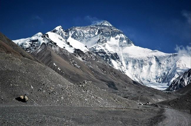 Everest desde el glaciar Rongbuck