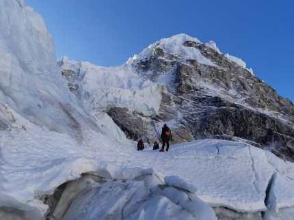 Alex Txikon Khumbu Icefall