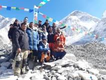 Alex Txikon winter Everest team