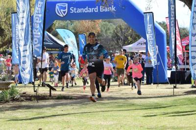 nelio de sa oliewenhuis trail run series kiddierun 2018