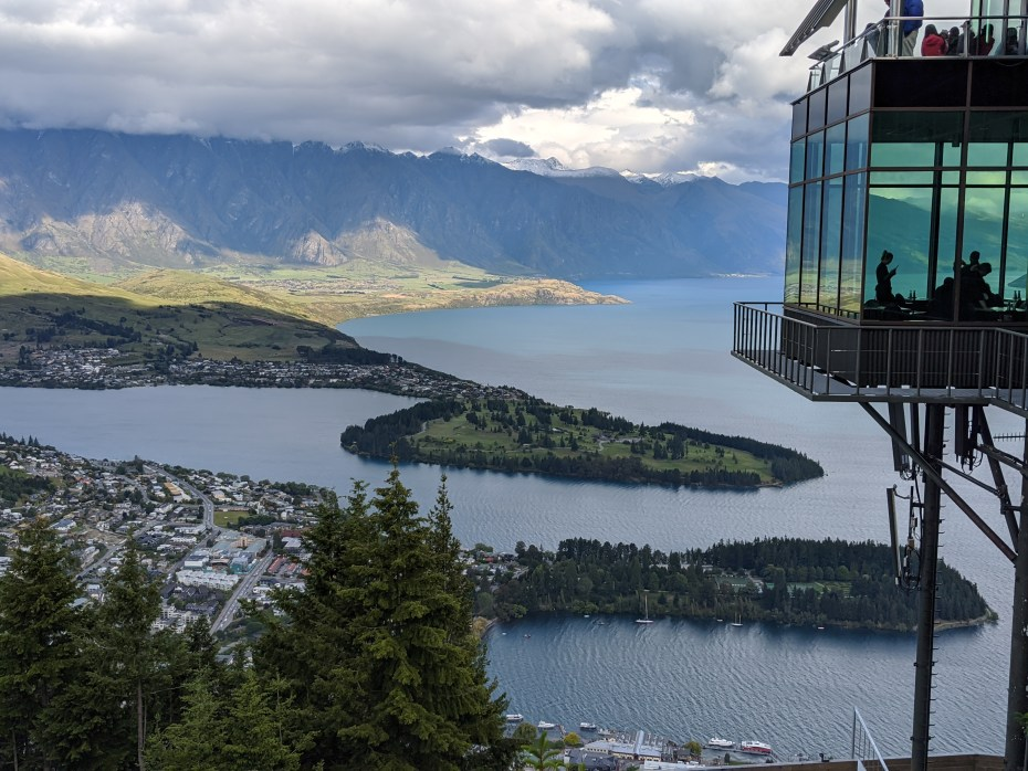 Luging at Skyline Queenstown