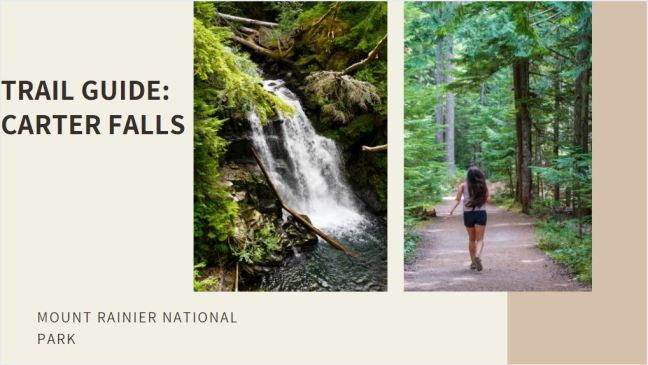 Trail Guide: Carter Falls