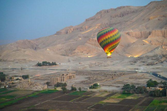 Hot Air Ballooning in Luxor