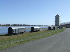 Groß Neuendorfer Hafen mit Turmcafe