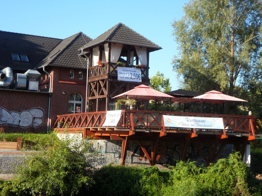 "Restaurant ""Haus am Finowkanal"""