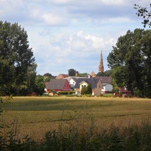 Der Kirchturm von Lietzow