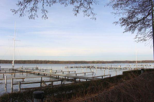 Liegeplätze am Ostufer des Tegeler Sees