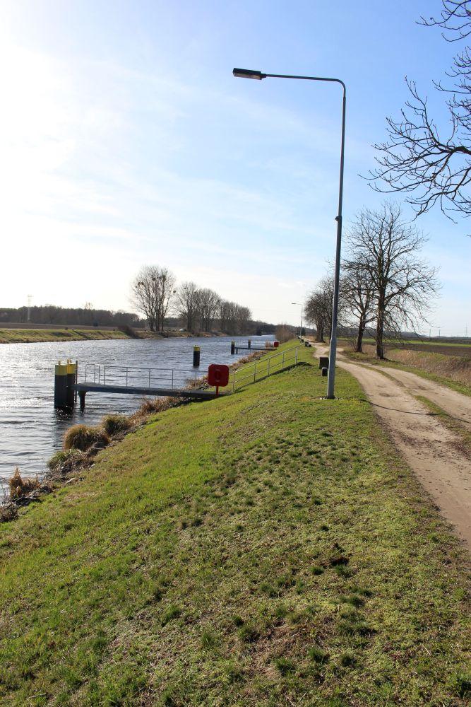 Der Havelkanal mit Blickrichtung Westen