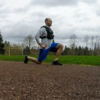 Track Lunge Workout!