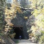 bike trail through tunnel