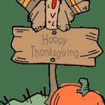 turkey sitting on trail sign