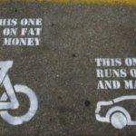bikes make good alternative transportation