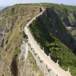 Sark island trail for bikes & pedestrians