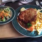 German Schnitzel Meal