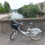 velomet rental bike in Metz, France