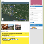 screenshot of Trailsnet trail page