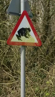 I love that my village has these signs. I've never seen them anywhere else.