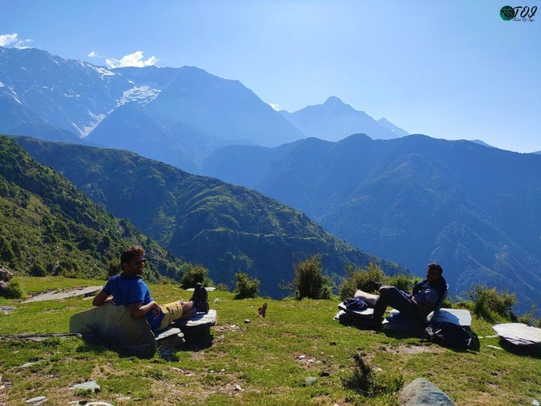 Cafe With The View On Triund Trail
