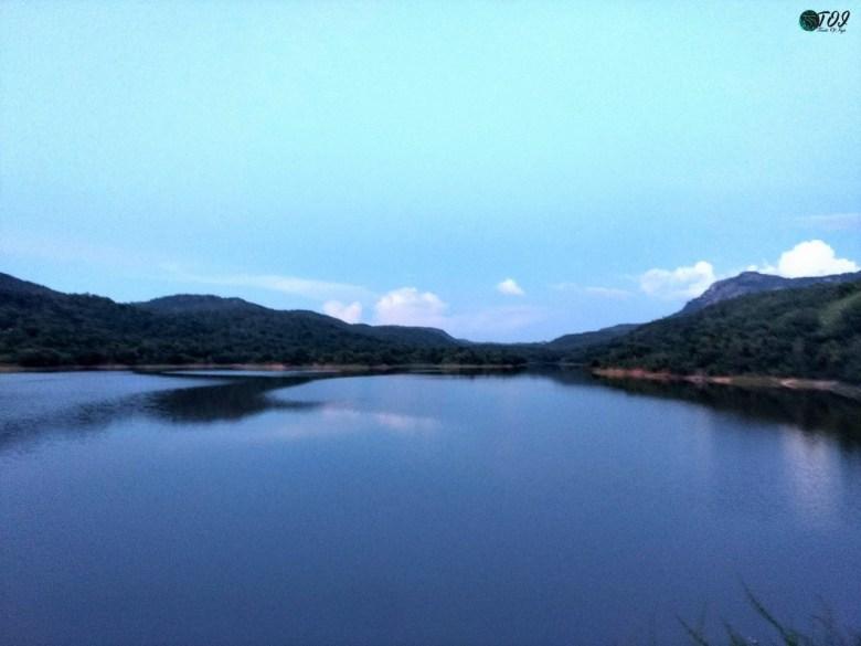 Dandiganahalli Dam Reservoir
