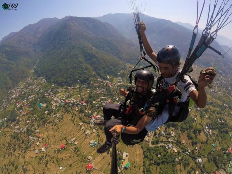 Paragliding At Bir Billing #2