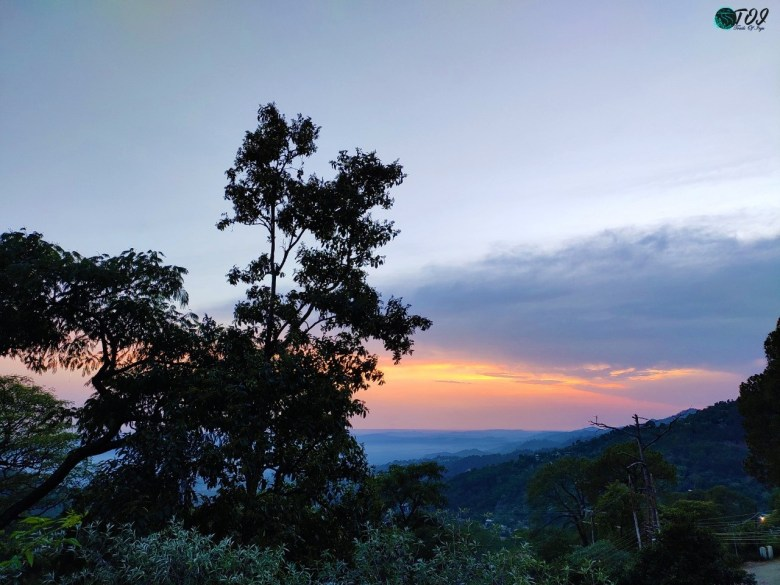 The Goodbye Sunset At Dharamshala