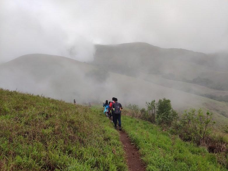 Chasing Clouds In Kudremukh Trek